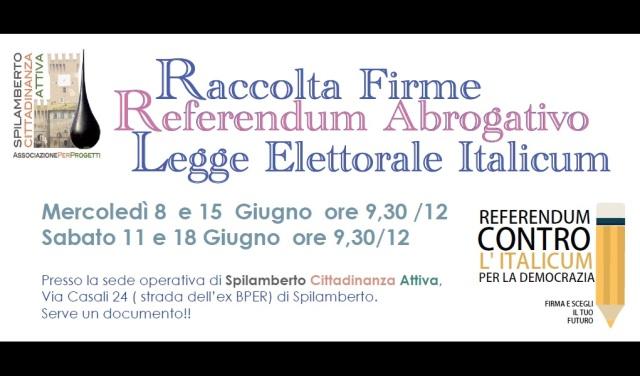 cartolina referendum