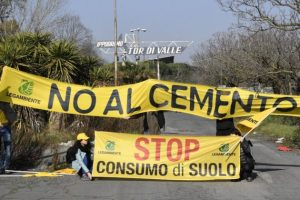 Stadio Roma, Legambiente contro la cementificazione a Tor di Valle
