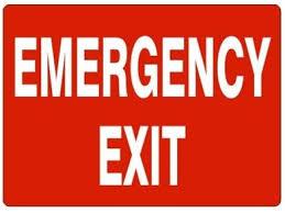 exit due