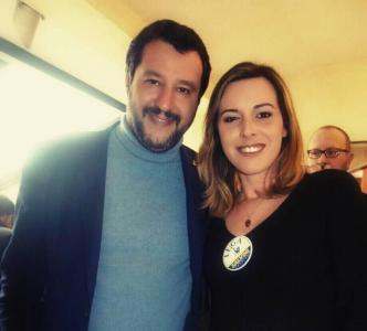 Eleonora Serra più Salvini