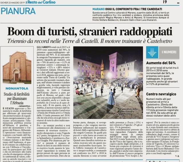 turismo articolo