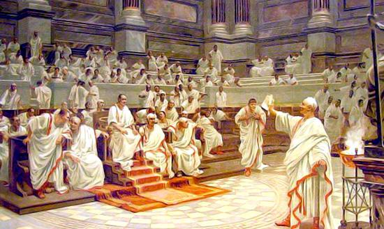 IL SENATORE ROMANO | romanoimpero.com